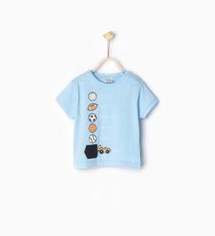 ZARA - KIDS - Printed T-shirt with pocket