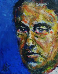 "Portrait of Heinrich Campendonk, Oil on Canvas 10x8"",  © Copyright 2011 Alan Derwin"