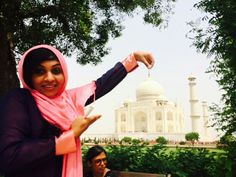 The love monument..taj mahal