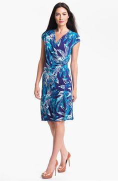 Tommy Bahama Lily Sky Faux Wrap Dress available at #Nordstrom