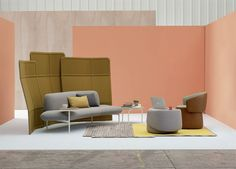 HAWORTH presents openest furniture by patricia urquiola at NEOCON.  This is the photo shoot managed in May.