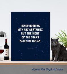 Vincent's Stars Art Print - earmarksocialgoods