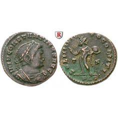 Römische Kaiserzeit, Constantinus I., Follis 309-310 n.Chr., ss: Constantinus I. 307-337. AE-Follis 24 mm 309-310… #coins #numismatics