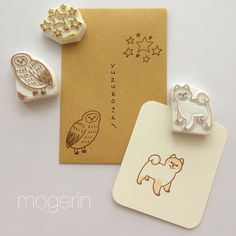 Instagram photo by @moge_rin via ink361.com Eraser Stamp, Art Projects, Projects To Try, Stamp Carving, Handmade Stamps, Just Do It, Hand Carved, Stamping, Doodles