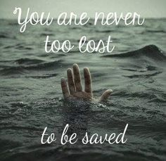 You will never go so far that God can not redeem and save you. Jesus rejoices more over a lost lamb being saved by Him even more than one who is righteous. In the parable of the lost sheep, Jesus is telling us that we can't go anywhere where He can't find and pursue us. In Romans 8 we learn that we can't be separated from His love!