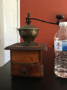 Antique Coffee Grinder by VintageFamilyGoods on Etsy https://www.etsy.com/listing/400965737/antique-coffee-grinder