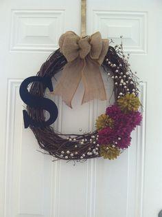 DIY wreath :)