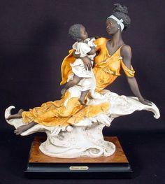 Brand New Ltd Ed Giuseppe Armani Figurine Maternit.