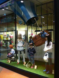 WINDOW DRESSING - TIFFOSI KIDS by Joaquim Szkutnik da Rocha, via Behance