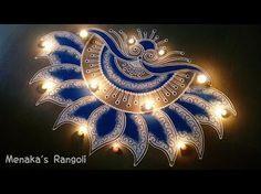 Beautiful Door Rangoli Design for Diwali Indian Rangoli Designs, Rangoli Designs Latest, Simple Rangoli Designs Images, Rangoli Border Designs, Rangoli Patterns, Rangoli Ideas, Rangoli Designs With Dots, Beautiful Rangoli Designs, Kolam Designs