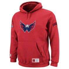 "Majestic Washington Capitals Be Proud Hooded Sweatshirt Xx Large by Majestic. $64.95. When the weather starts turning cold a hooded sweatshirt becomes a necessary part of every fan's wardrobe and this ""Be Proud"" Hooded Sweatshirt from Majestic is perfect to keep you warm. This heavyweight hoody has an embroidered team logo on the front as well as team graphics on both sleeves. Features contrast color stitching for added style, pouch pocket, and a drawstring hood. Made of 80% ..."