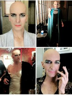 Denis O'Hare's brilliant depiction of a character named Liz Taylor on American Horror Story: Hotel