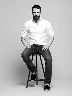 beard on chair