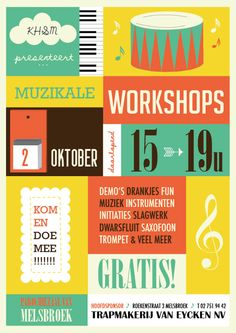 44 Cool Flyer Designs For Inspiration | Fonts, Inspiration and ...