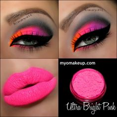 Single Eyeshadow Pigments - MYO Eyeshadow Pigment Ultra Bright Pink Mica Loose Powder Cosmetic Makeup (Powered by CubeCart)