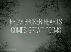 #broken #heart #poem #poetry