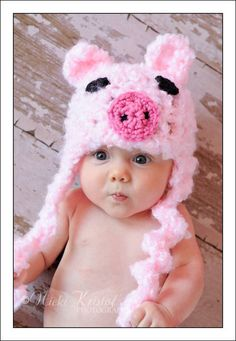 Sweet little piggy....