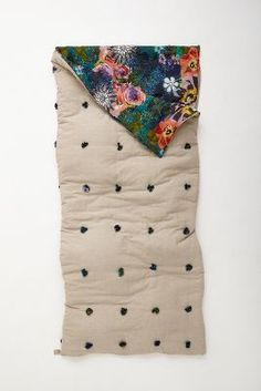 Sleeping Bag / Florabunda {sleeping in style!}