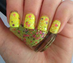 Fairy snot!  Great nail polish name.