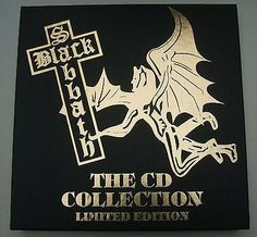 Black Sabbath - The CD Collection 1988 Ltd.Edition - Box Set of 6 Cds BSBCD001