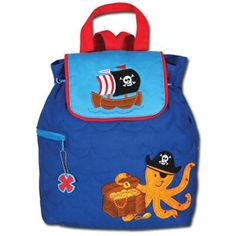 3c1396c348 This quilted backpack makes a great gift and is cute!  PampersPinParty Boy  Diaper Bags