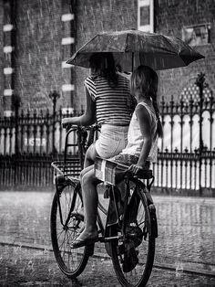 Rainy day in Amsterdam by Edwin Loekemeijer on 500px