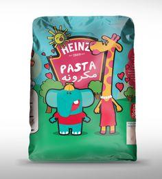 Heinz pasta package design for KIDS  www.matterbranding.com