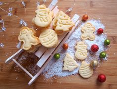 Czech Recipes, Christmas Sweets, Waffles, Food And Drink, Cookies, Breakfast, Cake, Desserts, Birds