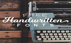 20 increíbles Fuentes Manuscritas Gratis para tus diseños