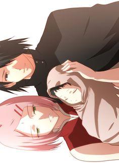 sasuke's family   via Tumblr
