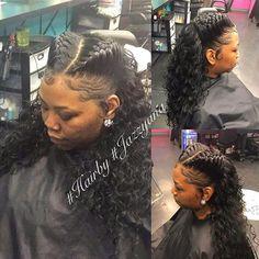 inspirational weave look