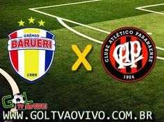 Assistir #Barueri x #Atlético-PR ao vivo 21h50 Brasileiro Série B