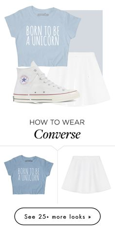 """Untitled #374"" by bubblegxum on Polyvore featuring RED Valentino and Converse"