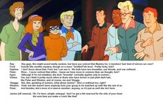 Ray Stantz initiates a Seinfeldian conversation between his fellow 'Busters, and his Mystery Inc. SD X RGB: Hair Compare Ghost Busters, Sd, Family Guy, Deviantart, Guys, Hair, Fictional Characters, Fantasy Characters, Sons