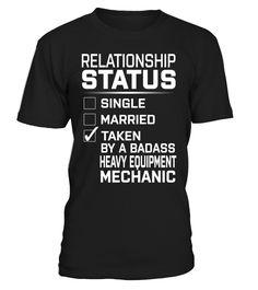 Heavy Equipment Mechanic - Relationship Status