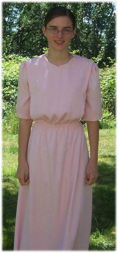 """pretty quaker """"cape"""" dress"""