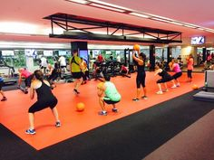 Neoflex 700 Series Fitness Flooring @  Fitness First Willoughby Platinum, Australia