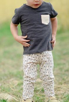 Kids Glasses Leggings (unisex) #kidsfashion #tinystyle #baby #toddler