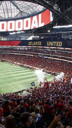 There's nothing like being home at Mercedes-Benz Stadium! Atlanta United Fc, Mls Soccer, Professional Soccer, Major League Soccer, Sports Pictures, Background Pictures, East Coast, Mercedes Benz, Haha