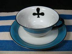 RKG Czechoslovakia China Cup and Saucer, Vintage, NICE!! | eBay