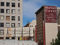 The Real Downtown LA Murder Hotel that Inspired Lady Gaga's American Horror Story Creepy Stories, Ghost Stories, Horror Stories, True Stories, American Horror Story Hotel, American Horror Story Seasons, Life Is Strange, Le Strange, Invisible Cities
