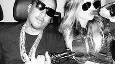 (3M360) MUSIC MOVIES MEDIA: French Montana and Khloe Kardashian Post Gun Photo...