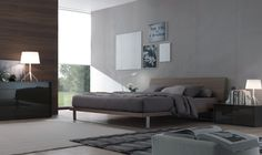 Find out all of the information about the JESSE product: contemporary TV wall unit / wooden ONLINE by Decoma Design. Walnut Bedroom, Drawer Unit, Bed Design, Modern Bedroom, Home Decor Inspiration, Jessie, Contemporary, Interior Design, Furniture