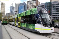 Australia on a budget: use public transportation Melbourne Tram. Victoria. Australia