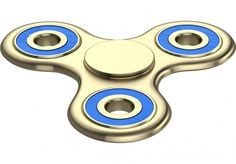 This is the <strong>Gold ZekPro Anti-Anxiety 360 Fidget Spinner</strong> and it's a great stress reducer and anxiety and boredom killer for kids and adults alike or even those with ADD/ADHD to find some relief.<br /><br /> And if you or one of your l
