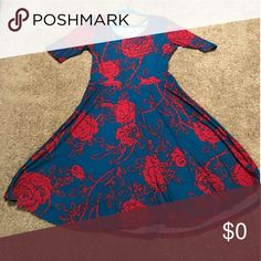 ISO!! ISO!! Desperately looking Desperately looking for this lularoe nicole dress .. another selling had it and it is sold now very sad :( .. I need this dress in an xl or xxl pls if anyone knows someone who is selling .. thank u Dresses Midi