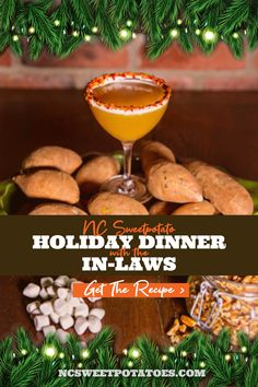 Host your holiday get together and use the orange superfood as your cocktail secret weapon. Vodka Cocktails, Holiday Dinner, Small Plates, Superfood, Weapon, Holiday Recipes, Sweet Potato, Food Processor Recipes, Potatoes