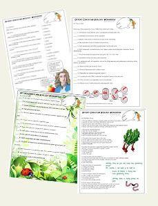 Biology printables