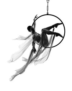 Dance Photography - ariel hoop  Wow , Nice ....looks like A DREAM CATCHER. cool pic...great fitness