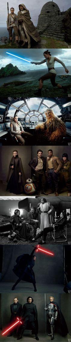 Star Wars: The Last Jedi photos by Anne Leibovitz for Vanity Fair